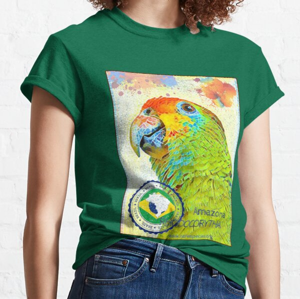 Red-browed Amazon Project Classic T-Shirt