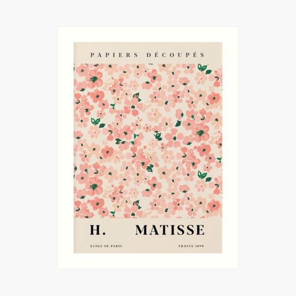Flower Pink H Matisse Art Print