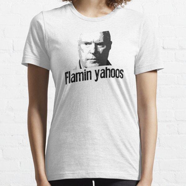 flamin mongrels y flamin yahoos. Camiseta esencial