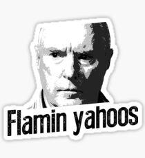 Australian TV Alf Stewart Flamin Yahoos Sticker