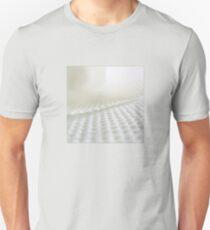 White in white T-Shirt