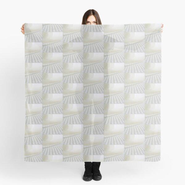 White in white Scarf