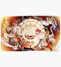 Magi The Labyrinth Of Magic Poster