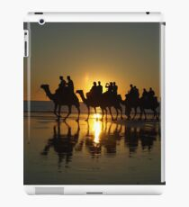 Cable Beach Camels at Sunset iPad Case/Skin
