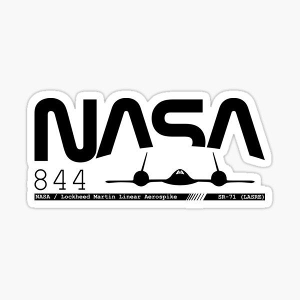 NASA SR-71 Sticker