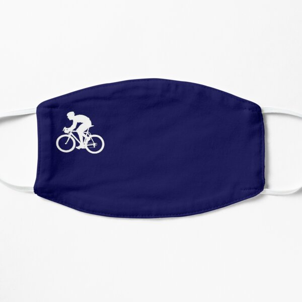 Bicycle racing bike / dark blue Flat Mask