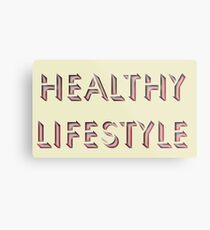Healthy Lifestyle Metal Print