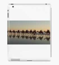 Cable Beach Camel Reflections (View Large) iPad Case/Skin