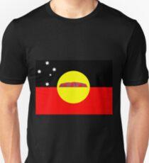 Koori Australian Flag  T-Shirt