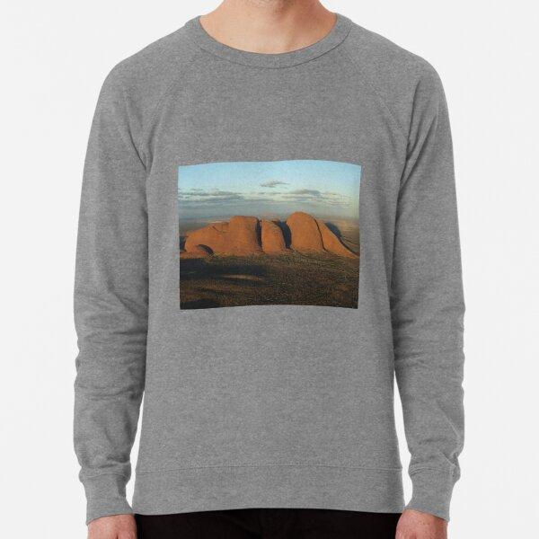 Kata Tjuta & Uluru - From the Air Lightweight Sweatshirt
