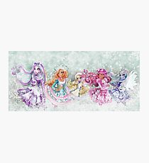 Epic Five - Crystal W., Ashlynn E., Blondie L., Briar B. & Faybelle T. Photographic Print