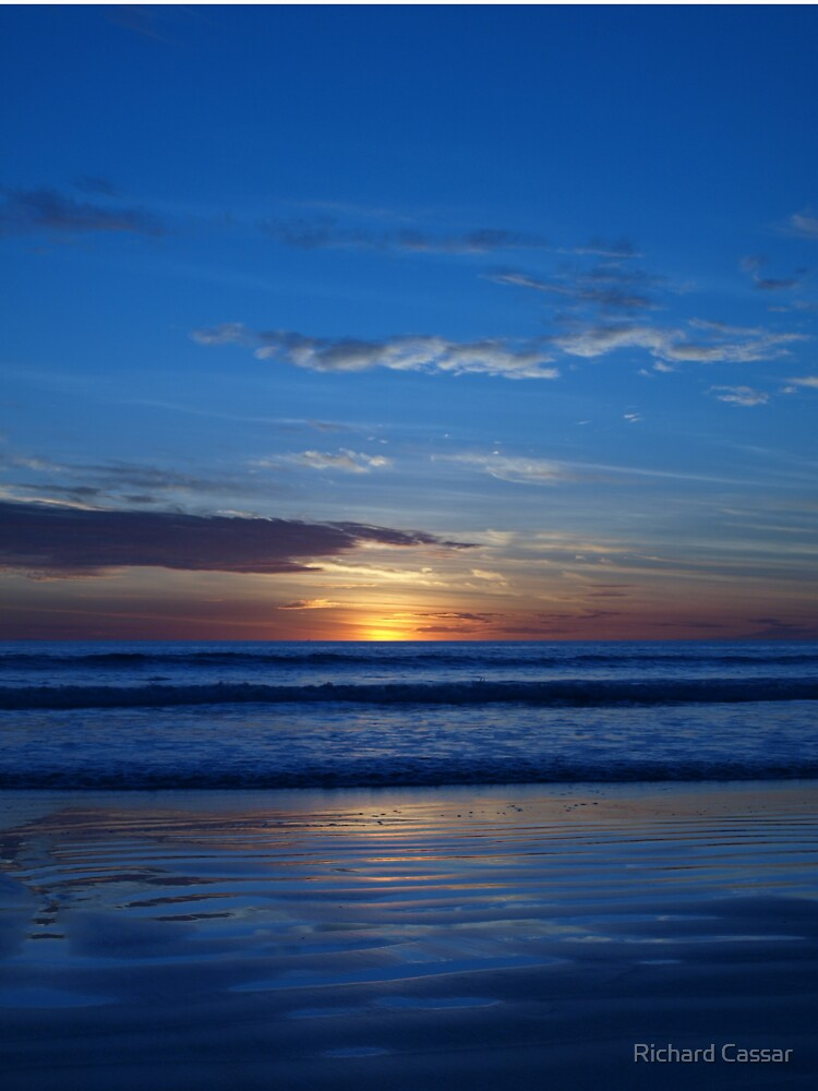 Blue Sunset - Cable Beach by CassarrArt