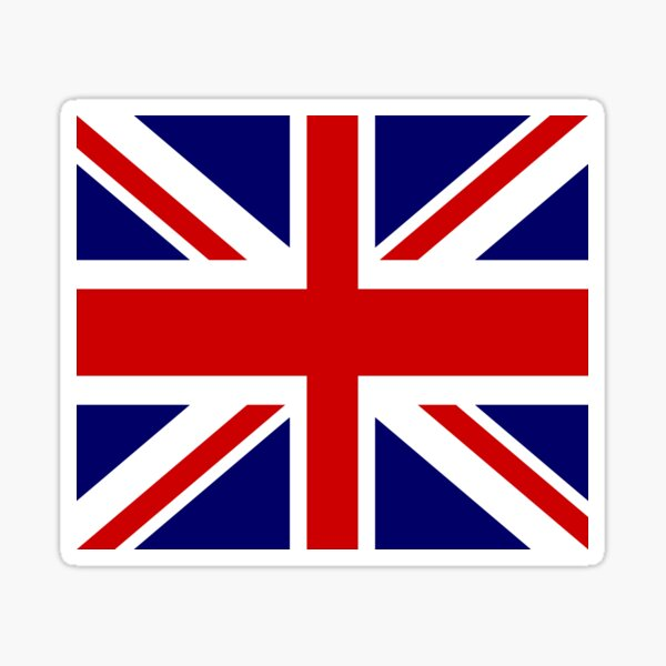 Union flag / Union Jack Sticker