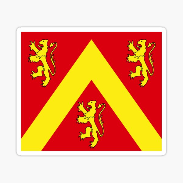 Isle of Anglesey flag Sticker