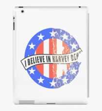 I Believe In Harvey Dent iPad Case/Skin