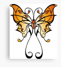 Fun Playful Butterfly! Canvas Print