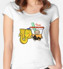 Thai - Boba Kids Women's Fitted Scoop T-Shirt