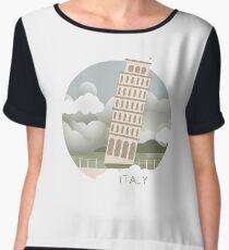 Italy Women's Chiffon Top