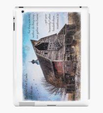 Matthew 6:26 (Old Barn & Birds) iPad Case/Skin