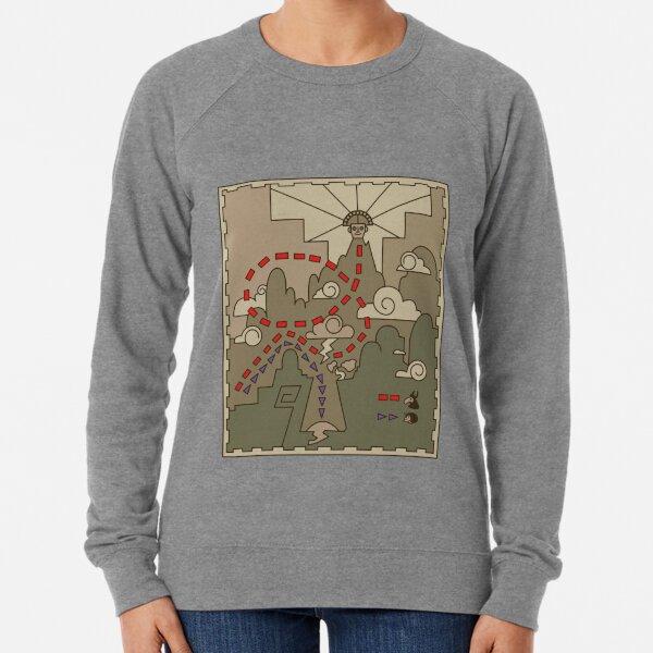 Kuzco Map Lightweight Sweatshirt