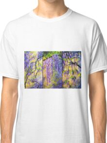 Wisteria Blooming - Triptych Classic T-Shirt