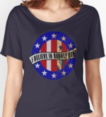 I Believe In Harvey Dent Women's Relaxed Fit T-Shirt