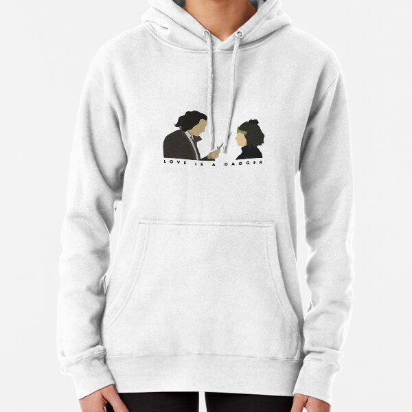 Liebe ist ein Dolch 008 Hoodie