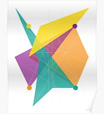 Abstract Rectangle Poster