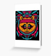 STREET PUNK Greeting Card