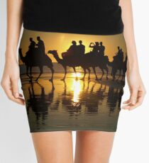 Cable Beach Camels at Sunset Mini Skirt
