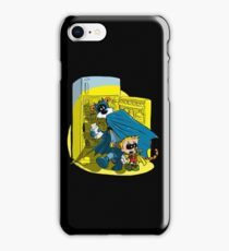 Calvin And Hobbes : Freezer Sneakers iPhone Case/Skin