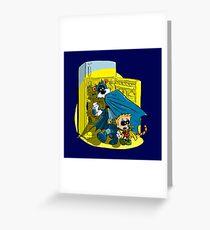 Calvin And Hobbes : Freezer Sneakers Greeting Card