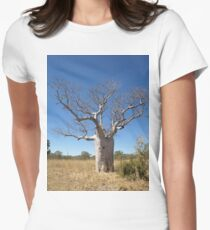 Boab Tree Women's Fitted T-Shirt
