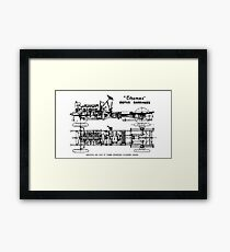 Thames Motor Carriage Framed Print