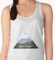 Triangle - Breathe it all in Women's Tank Top