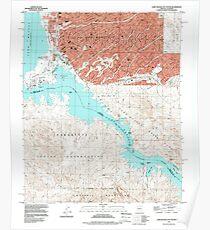 USGS TOPO Map Arizona AZ Lake Havasu City South 312052 1994 24000 Poster