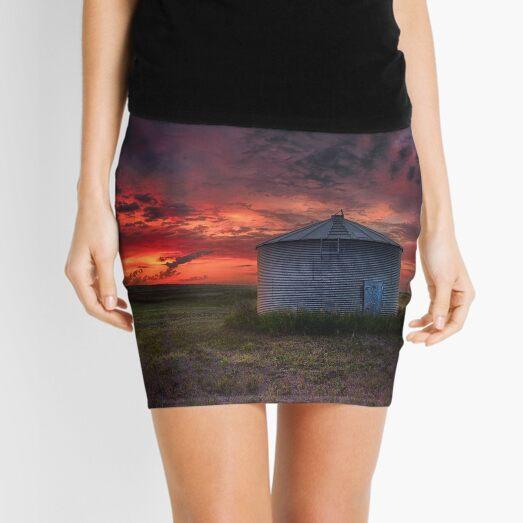 Twilight Steel Mini Skirt
