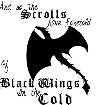 Black Wings In The Cold by Ebonmere