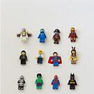 Lego Minifigure Photo Art- kids room  by lolipoptalia