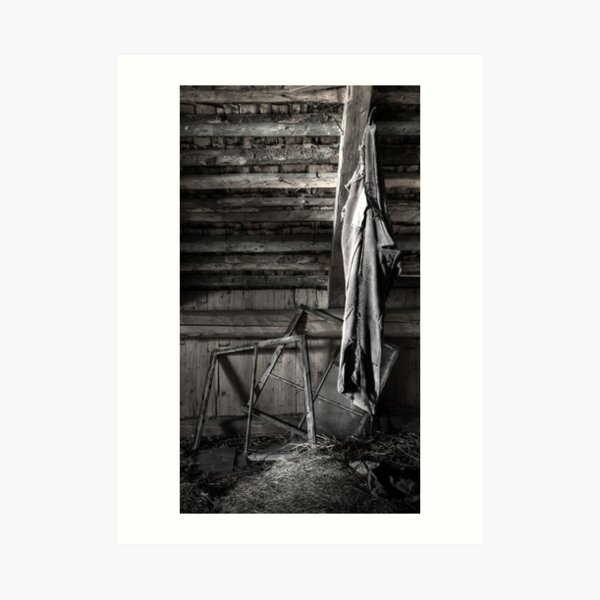 13.8.2016: Old Trousers Art Print