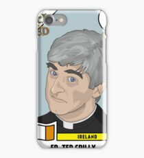 Father Ted Panini Sticker iPhone Case/Skin
