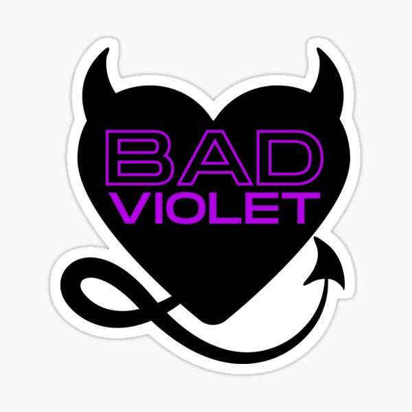 Bad Violet Logo Sticker