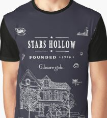 Stars Hollow Collage Graphic T-Shirt