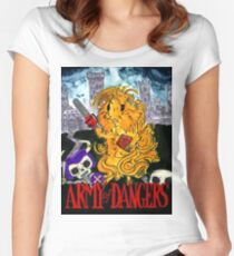 Army of Dangers, a guinea pig Army of Darkness Women's Fitted Scoop T-Shirt