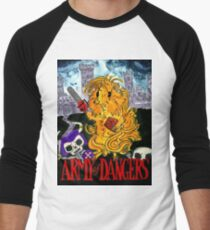 Army of Dangers, a guinea pig Army of Darkness Men's Baseball ¾ T-Shirt
