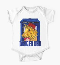 Danger Who, the Eleventh Guinea Pig Doctor One Piece - Short Sleeve