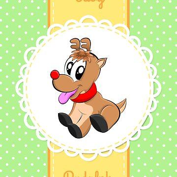 Baby Rudolph by Apptronics