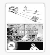 MULTI TRACK DRIFTING STICKER Sticker