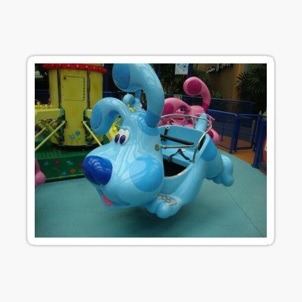 Blues Clues Amusement Park Ride Sticker