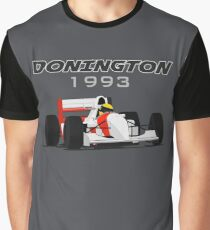 F1 Legend #8 - McLaren-Ford MP4/8 Graphic T-Shirt